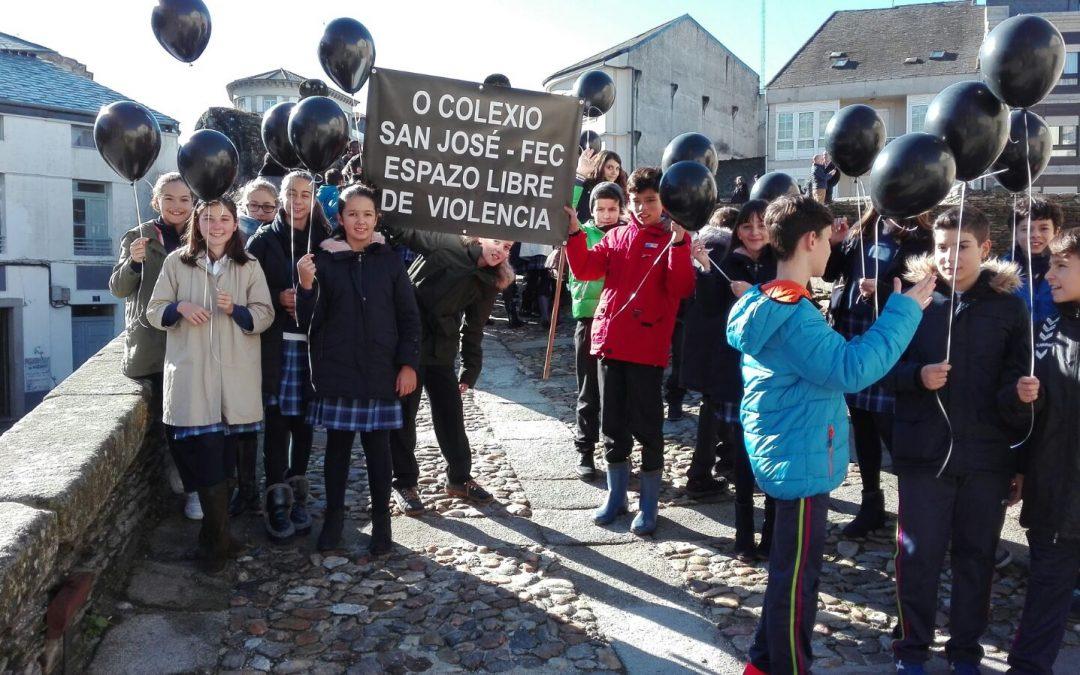 10-01-2017 VIOLENCIA CONTRA LA MUJER  ENTRE ADOLESCENTES – Grupo de Paula Parente en 3ºA ESO