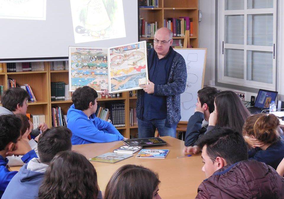 16-02-2017 Unha hora con Xosé Tomás, por David López García e Aarón Esteves García, 4º da ESO