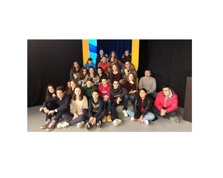 15-02-2017 Visita del colegio San José a la Fundación TIC, por David Losada Varela, Candela Martínez Varela, Claudia Gato Arias y Alejandro García Cuadrado –  San Xosé B  – CPR San Xosé