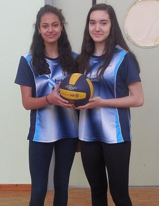 09/05/17 Dúas compañeiras nosas na selección galega de voleibol, Por Adrián Vilariño Fernández (4º ESO)