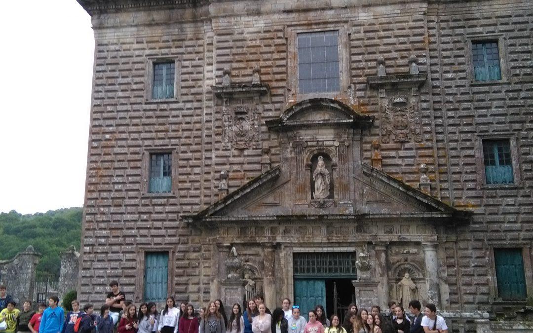 29/05/17 De San Rosendo a Oseira Por,  Ariadna del Pont Expósito, María Dolores Rodríguez Arza (3º ESO)