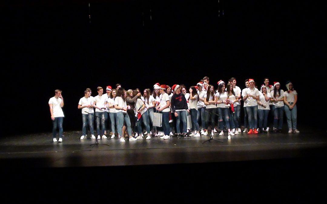 Festival de Navidad 2017 en el auditorio Gustavo Freire, por Jorge Huéscar  1º ESO