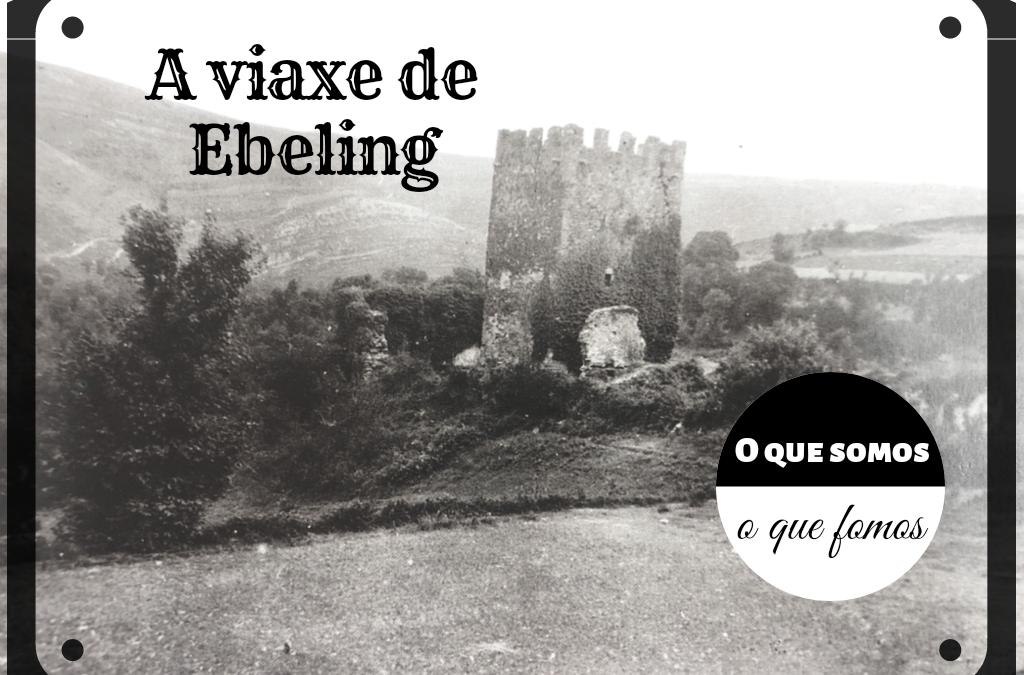 """No IES de Becerreá presentamos a exposición de fotográfica """"Antano e hoxe, a viaxe de walter ebeling"""" por Antía Álvarez García."""