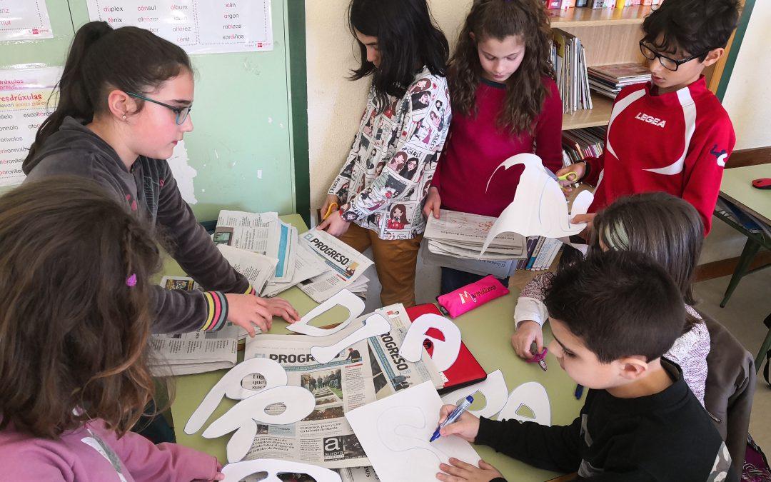 Semana de la Prensa El Progreso – Endesa en el Ceip A Ponte