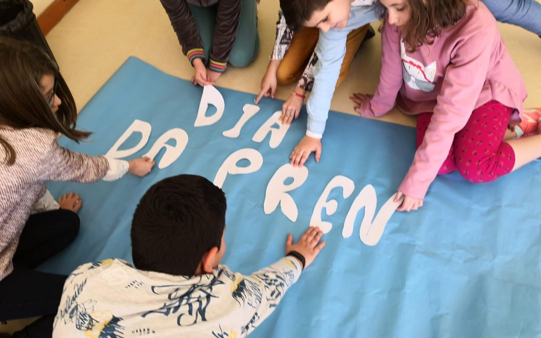Alumnos do Ceip A Ponte – Semana Prensa El Progreso-Endesa